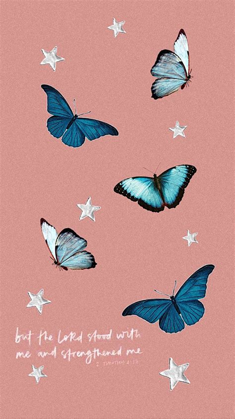 blue aesthetic butterfly wallpapers