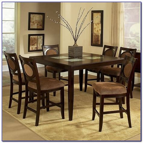 counter height dining room table sets 7 piece counter height dining table sets dining room