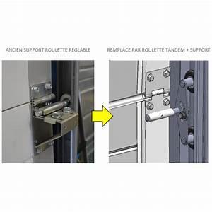 roulette tandem pour porte de garage sectionnelle With porte de garage sectionnelle spadone