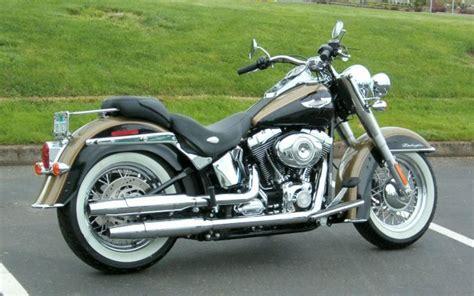 2007 Harleydavidson Flstn Softail Deluxe Motozombdrivecom