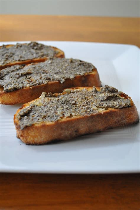 gluten free toast mazwo com mushroom pate on gluten free toast