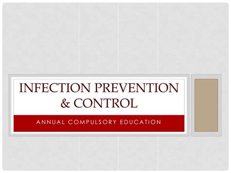 infection prevention control powerpoint