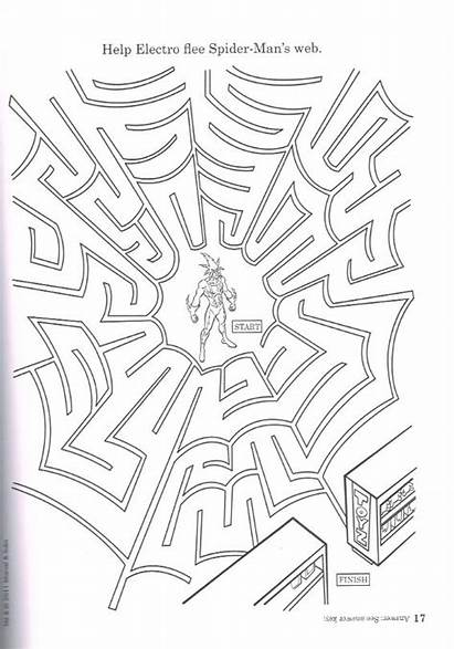 Spiderman Activity Comics Coloring Spider Scholastic Spiderfan