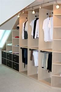 Planung Begehbarer Kleiderschrank : ankleidezimmer dachschr ge ikea ~ Indierocktalk.com Haus und Dekorationen