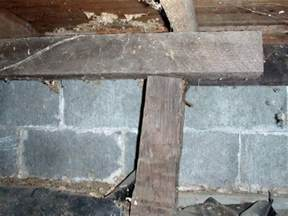 repairing sagging floor joists girders in your crawl