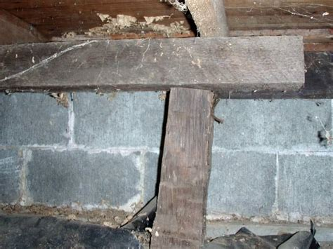 floor joist support jacks repairing sagging floor joists girders in your crawl