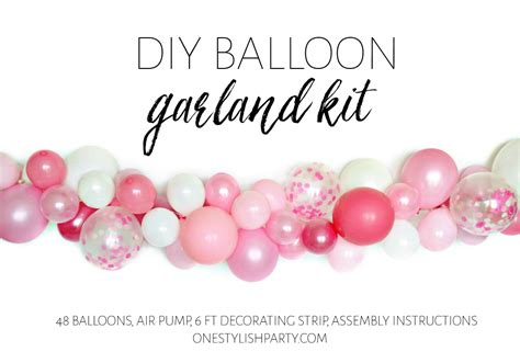 Diy Balloon Decorating Strip