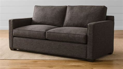 Davis Sleeper Sofa by Davis Sleeper Sofa Darius Graphite Crate And Barrel