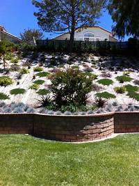backyard landscape ideas Beautiful hillside landscape job in Moorpark, Ventura ...