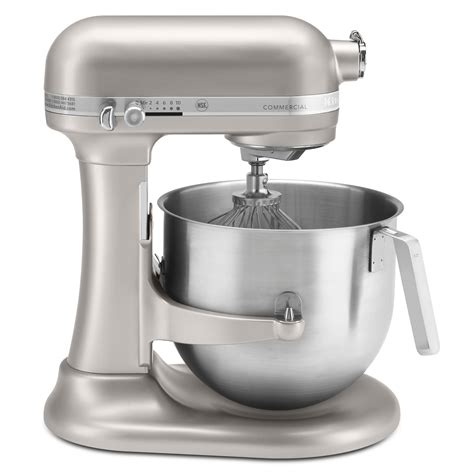 mixer stand commercial kitchenaid duty heavy baking kitchen amazon grinder quart qt gear bowl countertop lift series speed nickel pearl