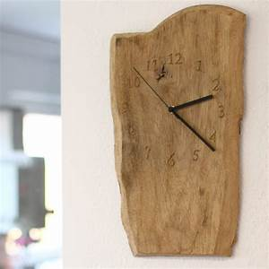 Wanduhr Holz Vintage : wanduhr vintage treibholz aus einem eichenbrett arbortech shop ~ Indierocktalk.com Haus und Dekorationen