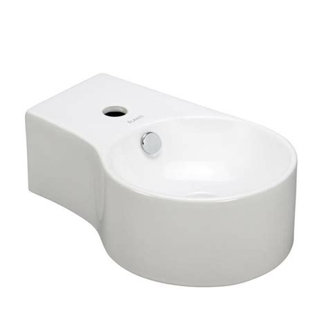 home depot deep sink elanti wall mounted round deep bowl right facing bathroom