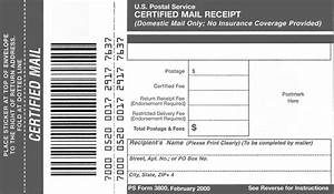 domestic mail manual s912 certified mail With usps document mailer
