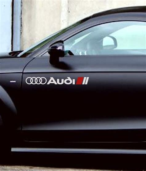 audi         rs rs rs racing decal