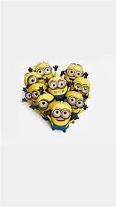 Heart Of Minions iPhone 6 / 6 Plus and iPhone 5/4 Wallpapers