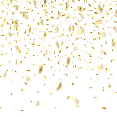 Gold Confetti Background Gold Confetti Background Free Vector Stock