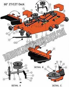 2011 Zt 60 U0026quot  Deck Assembly