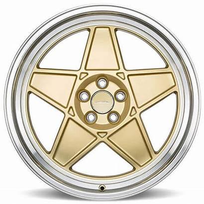 Gold Wheels Rims Alloy Matte Diamond Lip