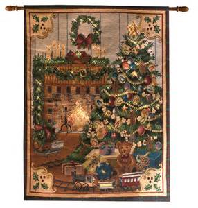 home for christmas tapestry wall hanging fiber optic wall hanging 26 quot x 36 quot