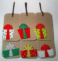 gift tags christmas gift tags felt gifts a unique product by kelciekreations on dawanda
