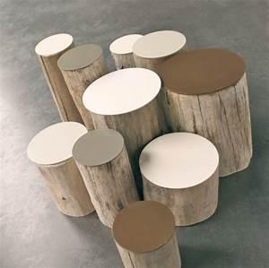 Table Basse Tronc : des id es de tables basses colos ~ Teatrodelosmanantiales.com Idées de Décoration