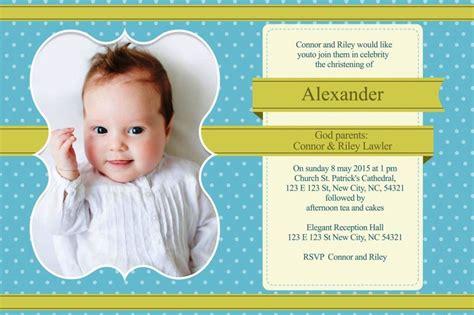 Boy Christening Invitations Template SampleTemplatess