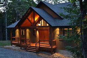 1,800 Sq Ft Chalet traditional-exterior