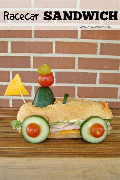 cuisine cing car race car food