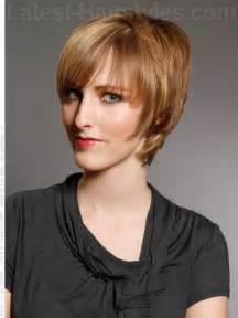 Forward Short Haircut Woman