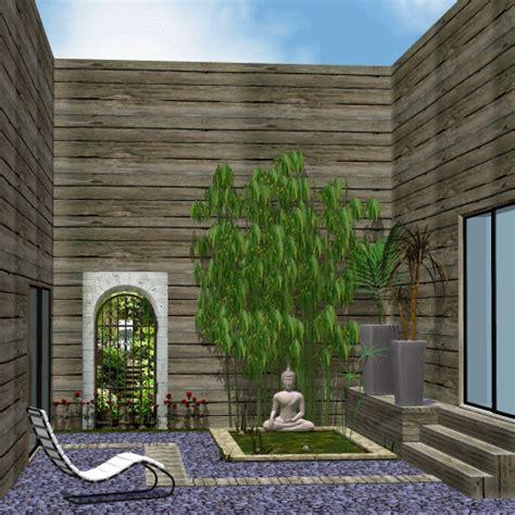 decor exterieur atmosphere zen dans le patio
