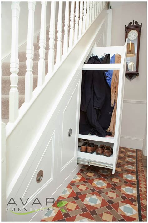 stairs cupboard ideas  making small spaces