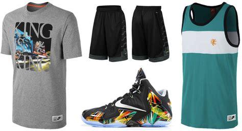 Nike LeBron 11 Everglades Clothing Shirts Shorts Hats | SportFits.com