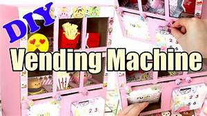 DIY Squishy Vending Machine Tutorial Cardboard Homemade ...