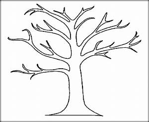 friendship tree template - download tree leaves coloring pages for kids adult