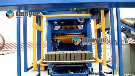 New Products Semi Automatic Concrete Block Making Machine