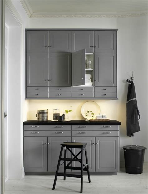 cuisine ilot central ikea ikea cuisine bodbyn gray ikea kitchen cabinets kitchen