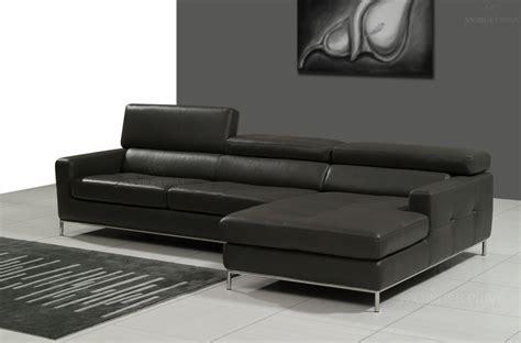 canape d angle cuir noir canap mobilier privé