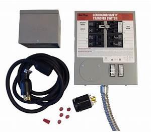Kit3026 Gen  Tran Manual Transfer Switch Panel Kit 30a  10