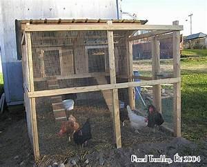 Construire Un Poulailler Poulailler Plan Construction