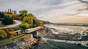 Epic train journey carves path through scenic and historic ...