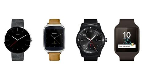 android wear smart samsung gear live motorola moto 360 and lg g r get