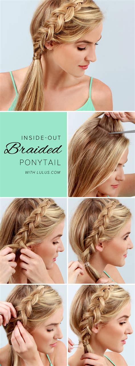 stylish step  step hairstyle tutorials