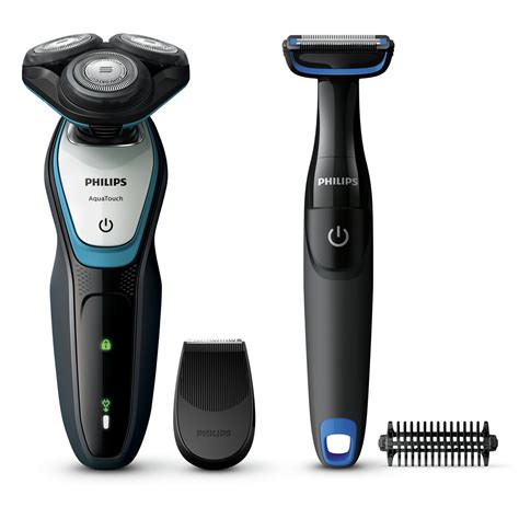 philips series  wet dry electric shaver body