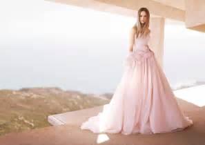 pink wedding dresses pink wedding dresses david 39 s bridal fashion belief