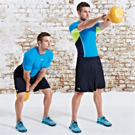 belly fat lose kettlebell workouts swing sit doing without single workout coachmag