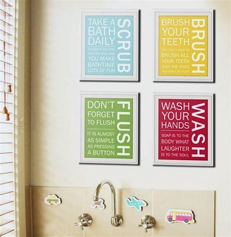 bathroom artwork ideas art for kids bathrooms