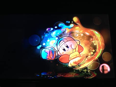 paint kirby loading screen super smash bros  wii