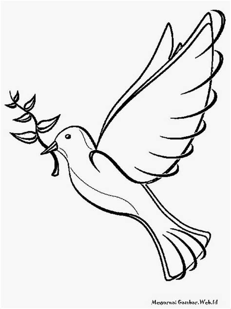 lukisan burung simple cikimmcom