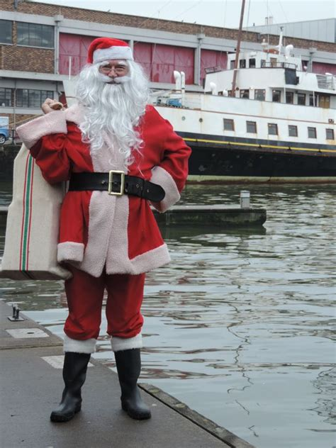 Boat Ride With Santa by Forget Grottos You Can Go On A Boat Ride With Santa In
