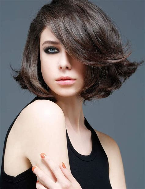 30+ Stylish Short Bob Hairstyles For Thick Hair